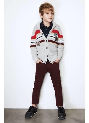 Nebbati Erkek Çocuk Bordo Pantolon Bordo
